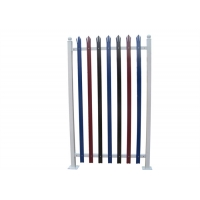 Buy cheap Garden Decorative Q235 Steel Palisade Fence Panels from wholesalers