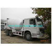 Buy cheap 10cbm Customized cement mixer truck with Italy Eton or Bonfiglioli pump from wholesalers