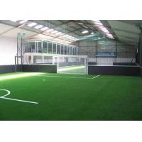 Buy cheap Eco Friendly Synthetic Artificial Grass / Indoor Football Turf  20GP Loading 2800 - 3200 ㎡ from wholesalers