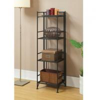 Buy cheap Chromium Plated Metal Book Shelves Traditional Style For Office from wholesalers