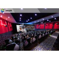 Buy cheap 4D Motion Seat Equipment With Snow, Rain, Lightning, Smoke Simulator System product