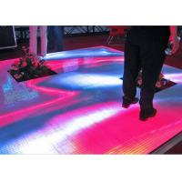 Buy cheap Super Brightness P10 Outdoor Full Color Video Floor LED Stage Floor Display Screen from wholesalers