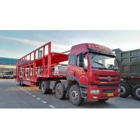 Buy cheap CIMC Triple Axles Car Transport Carriers Car Loader Truck Flatbed Platform from wholesalers
