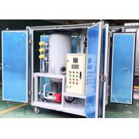 Buy cheap ZJA-1.8KY 1800L/H Small Transformer Oil Filtration Plant with High Vacuum System from wholesalers