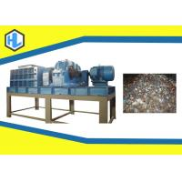 Buy cheap 55kw Motor Power Solid Waste Shredder Machine With 50mm Blade Thickness from wholesalers