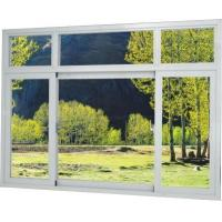 Buy cheap High quality Brown / Silver Thermal Break Aluminum Frame Windows With Temper Glass from wholesalers
