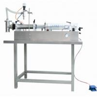 Buy cheap Semi-automatic Horizontal Self-suction Ointment / Cosmetic Cream Filling Machine 60-1000ml from wholesalers