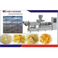 Buy cheap Bugles Chips Doritos Making Machine / Commercial Food Processing Equipment from wholesalers