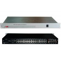 Buy cheap 4xE1 G.703+2xEthernet+1 to 30 channel voice (FXS/FXO) fiber multiplexer (modular) from wholesalers
