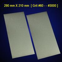 Buy cheap [290 mm X 210 mm A4 paper Foursquare shaped electroplated diamond grinding plate/disc from Wholesalers