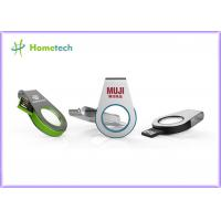 Buy cheap Mini Size Metal / Acrylic Swivel USB Flash Drive Recorder Support USB 2.0 With LED Light product