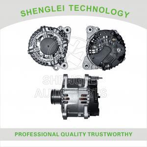 Buy cheap Clutch Pulley Type Volkswagen Car Alternator , OEM 0124525010 Volkswagen Generator product