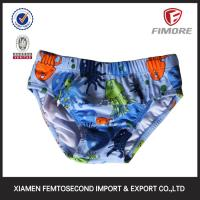 Buy cheap 80%polyamide;20%elasthane baby's sea printed brief Swimwear brief from wholesalers
