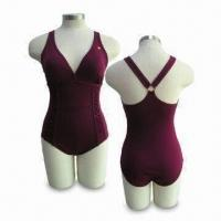 Buy cheap Chlorine-resistant Fashionable 1pc Women's Swimwear with UV Protection and >50 UPF from wholesalers