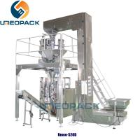 Buy cheap 2 year warranty auto puffed plantain potato chips bag snack sachet  filling weighing and packing machine with nitrogen from wholesalers