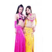 Buy cheap High class 5pc set sexy professional pink belly dance costumes for adult from wholesalers