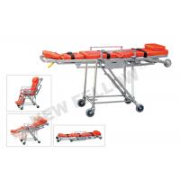 Buy cheap Wheeled Stainless Steel Emergency Evacuation Stretcher For Elevator from wholesalers