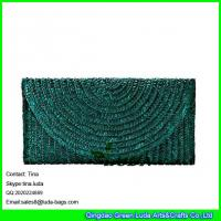 Buy cheap LUDA lady straw clutch handbags fashion straw evening cosmetic bags from wholesalers