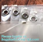 Buy cheap Custom Transparent PVC Slider Zip Lock Bags Frosted EVA Zipper Packaging Bag For Garment,Self Zip Lock Apparel Packaging from wholesalers