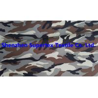 Buy cheap Polyester Oxford Paper PU Breathable Coated Fabric Camo Print Leisure Military Uniform 300D 150GSM from wholesalers