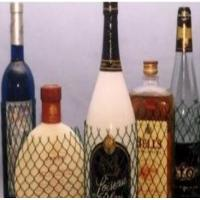 Buy cheap PE Wine Bottle Net Protective Netting Sleeve , Protective Plastic Mesh Sleeve from wholesalers