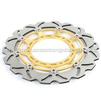 Buy cheap 320mm Durable Wave Floating Motorcycle Brake Discs for Yamaha XT600X product