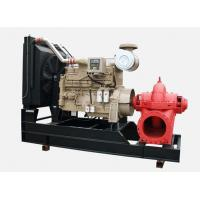 Buy cheap 350GPM cummins diesel engine fire pump set 200hp horizontal stainless impeller water Irrigation from wholesalers