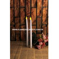 Buy cheap Plastic Flameless LED Taper Candles / Electronic LED Battery Candles for Interior Decoration from wholesalers