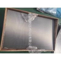 Buy cheap Flat Panel Wedge Wire Sieve Filters For Solid - Liquid Separation / Chemical Industry from wholesalers