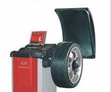 Quality 380v / 220v / 110v Kc-B856 Car Wheel Balancing Machine 200rpm With Pedal Brake for sale