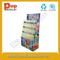 Buy cheap Book / Stationery Cardboard Floor Display Stands For Marketing from wholesalers