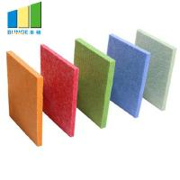 Buy cheap 100% Polyester Acoustic Panels , 3D Sound Diffusive Decorative Interior Wall Paneling from wholesalers