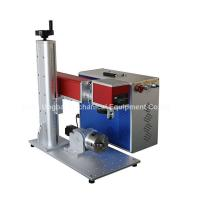 Buy cheap Mini Type Fiber Laser Marking Machine for Logo Marking from wholesalers