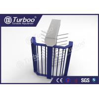 Buy cheap Intelligent CE Approved Full Height Turnstile Gate / Turnstile Security Systems from wholesalers