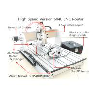 Buy cheap 4th Axis CNC6040 High Speed Version Desktop CNC Router for 3D Engraving Machine from wholesalers