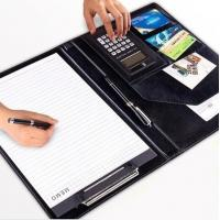 Buy cheap A4 multi functional business file holder document holder with calculator china factory manufacturer from wholesalers