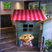 Buy cheap DIY Paper Corrugated cardboard houses for kids cardboard box playhouse from wholesalers