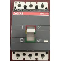 Buy cheap MCCB 3 Pole Industrial Circuit Breakers High-breaking capacity from wholesalers