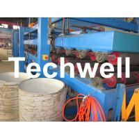 Buy cheap Rock Wool Insulated Sandwich Panel Cold Roll Forming Machine 0 - 4.05 m / Min Speed from wholesalers