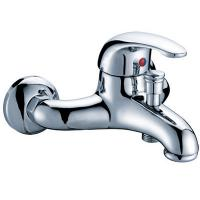 Buy cheap Low Pressure Wall Mounted Bathtub Mixer Taps / Bathroom Mixer Faucet from wholesalers
