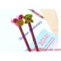 Buy cheap License brand multicolor pencil head eraser for good use in china sales from wholesalers