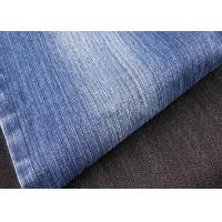 Buy cheap Tear Resistant Slub Denim Fabric 58 / 60 Width , Combed Denim Upholstery Fabric Woven from wholesalers
