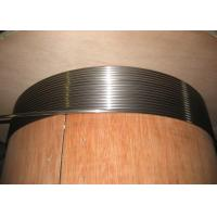 Buy cheap Duplex Stainless Steel Capillary Coiled Tubing , 2205 2507 Hydraulic Coiled Tubing String from wholesalers