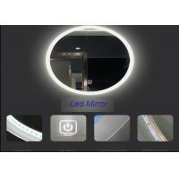 Stylish Salon Smart Mirror Tv Illuminated Rectangle Shape With Wide View Angle