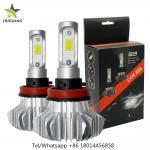 Buy cheap 360° Beam Angle Led Headlight Bulbs , S9 9006 Fanless H7 Led Bulb from wholesalers