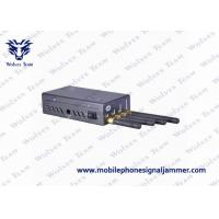 Buy cheap Palm Sized Mobile Phone Signal Jammer Good Cooling System For Conference Center from wholesalers