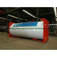 Buy cheap Steel 20ft LPG Storage Tanks Container With Pump , LPG Skid Station ASME Certificate from wholesalers