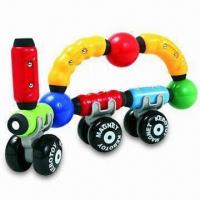 Buy cheap Magnetic Construction Toy for Kids with Multicolor Bars and Rods, OEM/ODM Orders are Welcome from wholesalers
