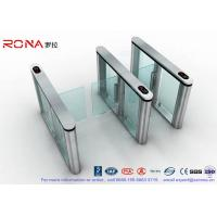 Buy cheap Fastlane Swing Barrier Gate Silver Polishing With Dry Contact Interface product