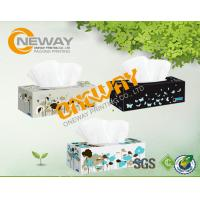 Buy cheap Product Packaging Boxes / Convenient Rectangle Tissue Paper Custom Folding Boxes from wholesalers